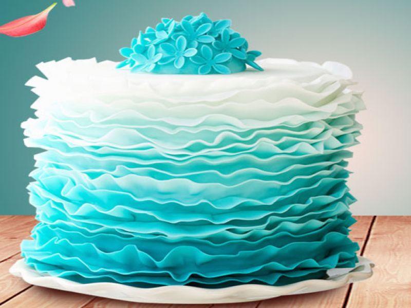 創意蛋糕diy圖片