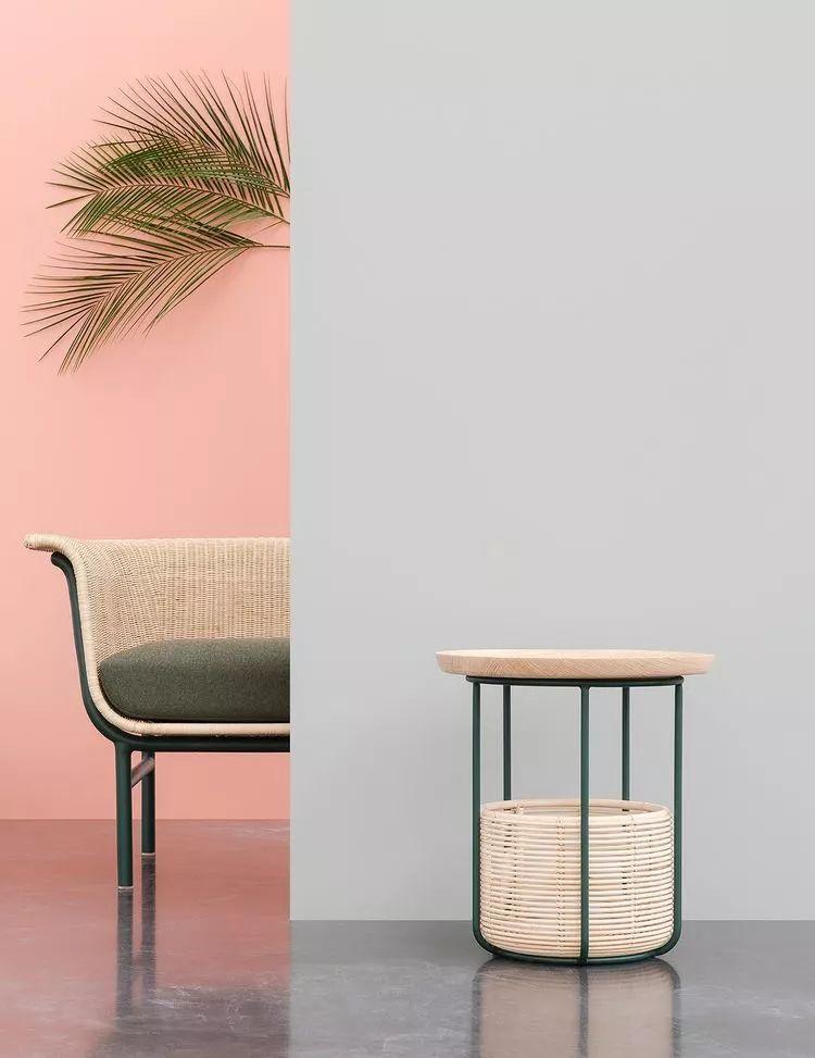 加入现代元素的竹编家具,低碳环保,自然恬静.图片