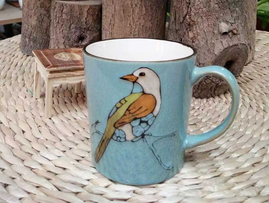 非常经典的花纹,质感很好 深色耐脏 因为一个理由爱上一只杯子 以上