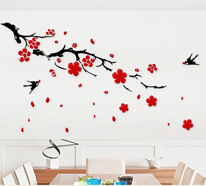 和万事兴立体墙贴画贴纸,阖家欢乐过新年,让家更温馨