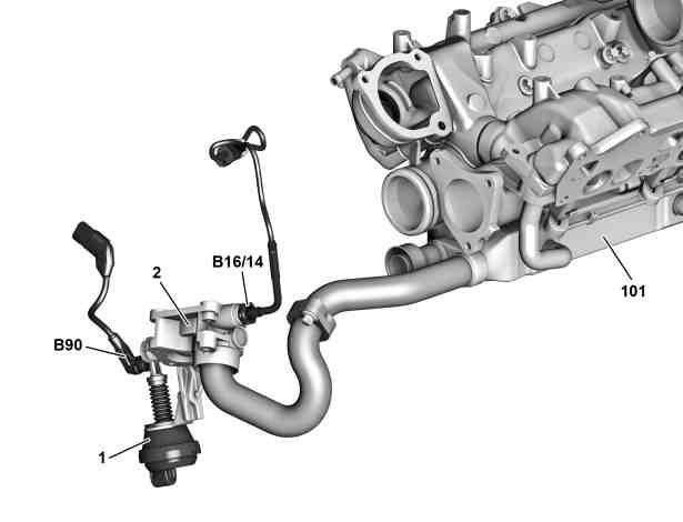 共轨柴油喷射系统_奔驰共轨喷射系统柴油机 (CDI) 的系统部件概述