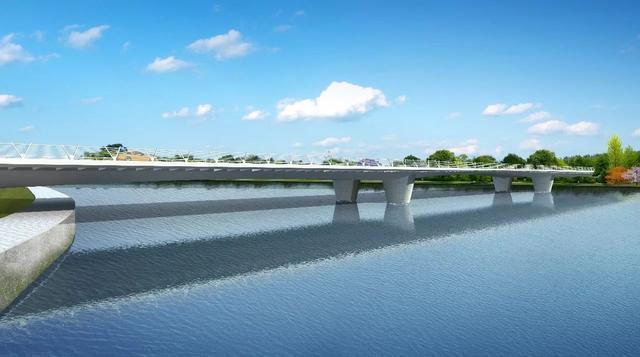 锦尚大桥规划图   锦尚大桥,位于锦尚路(市政次干道)上,锦尚大桥西侧起于锦尚路(纬七路)与科华南路交叉口,东侧止于泰宁三路(纬七路)与国华街(经三路)交叉口,线路全长约370m,江面宽度约220m,规划桥宽为30米[其中车行道2*11.5米(双向四车道)