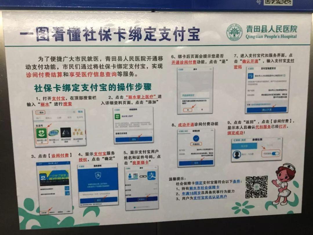 好消息!今后在青田人民医院看病缴费不排队,检查报告手机查!图片