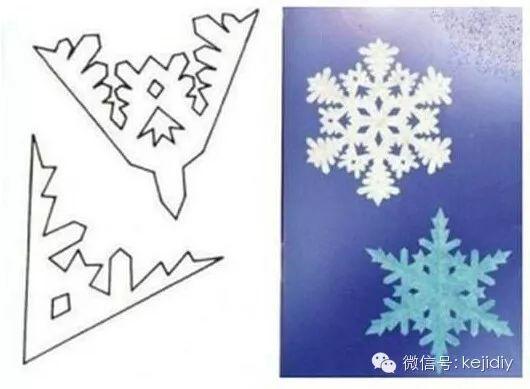 雪花剪纸方法大全图片