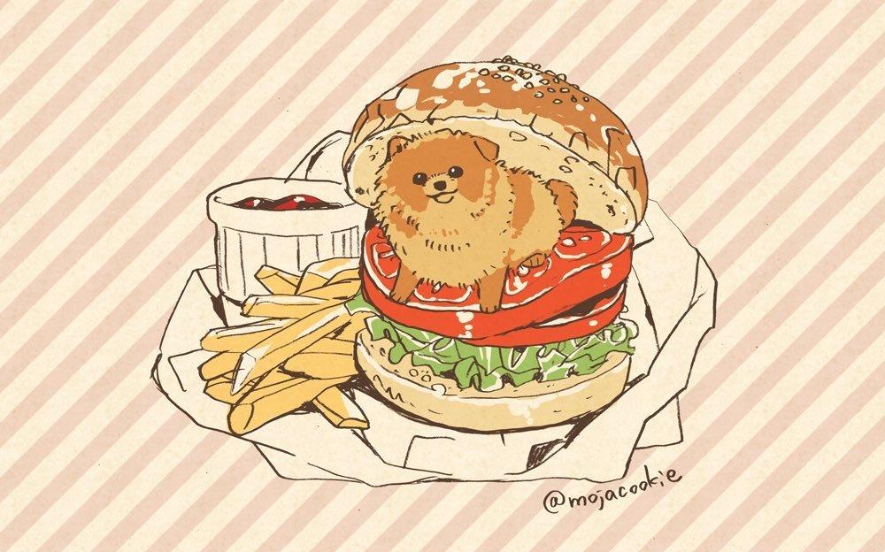 日本手绘家笔下的汪和美食~温馨治愈的和风漫画风,让人想起宫崎骏的