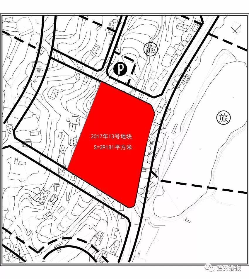 蓬安最新规划图