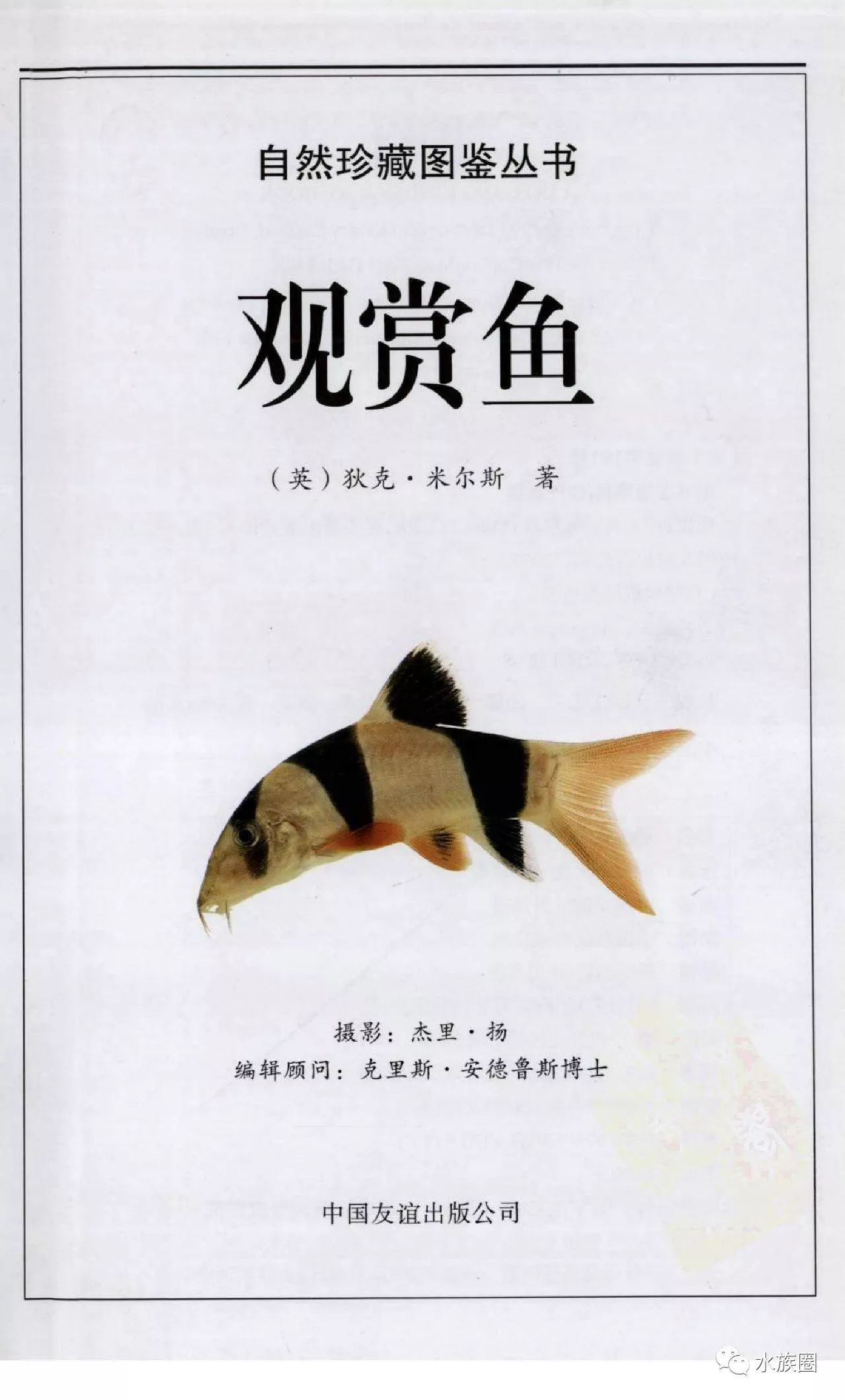 觀賞魚:全世界500多種觀賞魚的彩色圖鑒