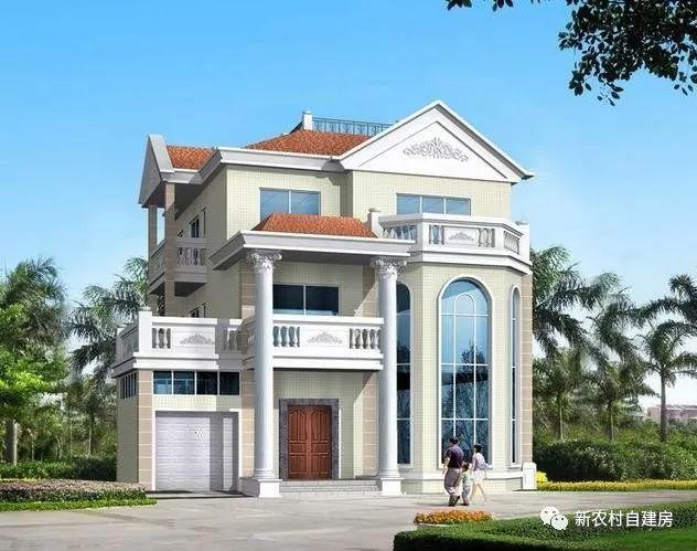 4款三层农村别墅施工案例,你最想建哪款