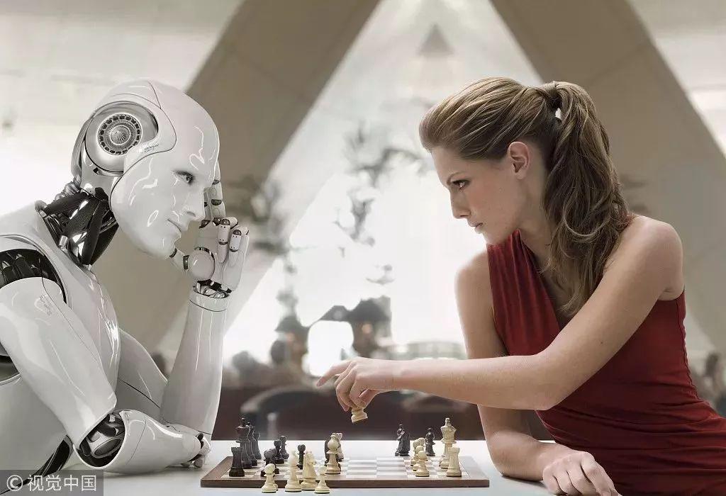 机器人你别来抢我的饭碗和对象!OK?