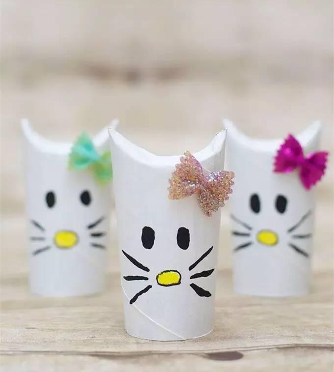 创意纸筒手工,让孩子从中找到乐趣!图片