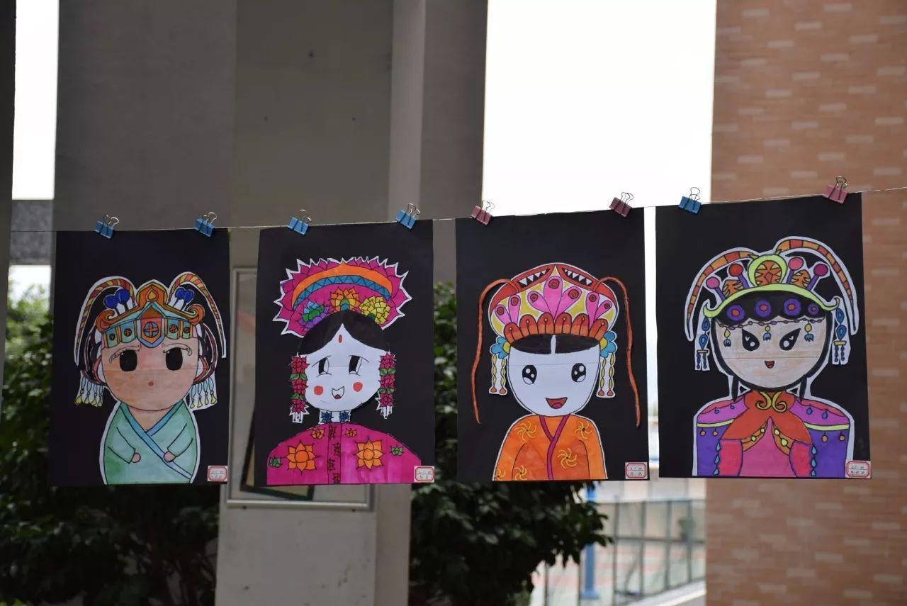 民族魂,中国梦——阳光下成长 创意手工绘画作品展