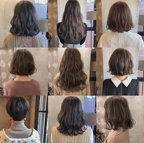 30 款纹理卷发,新发型就照这样烫吧图片
