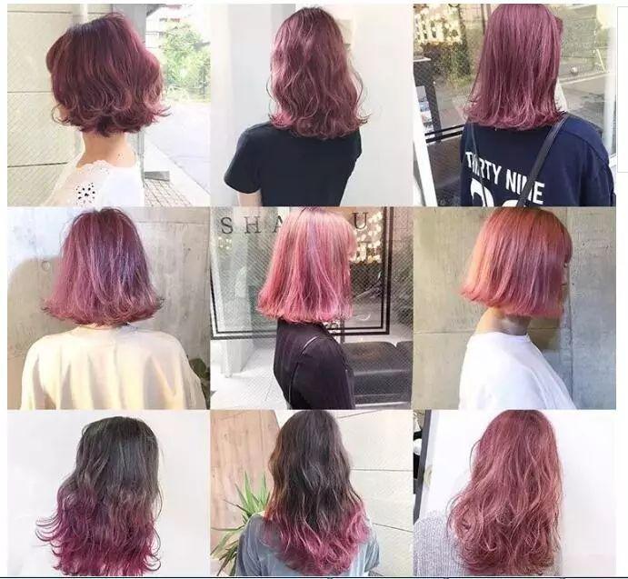 2018年最新流行的发型颜色都在这!