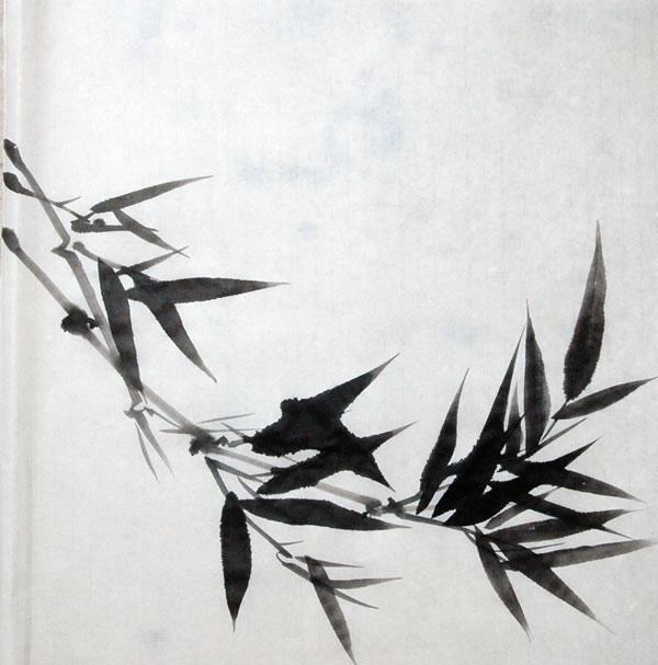 水墨竹子画法教学视频 图片合集图片