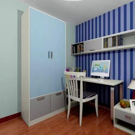 衣柜内部结构丰富, 长衣区,短衣区,玩具 区,分类明确,有序, 锻炼孩子