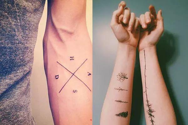 想刺青又不想太招摇 这6个纹身部位,让你小露男性魅力图片