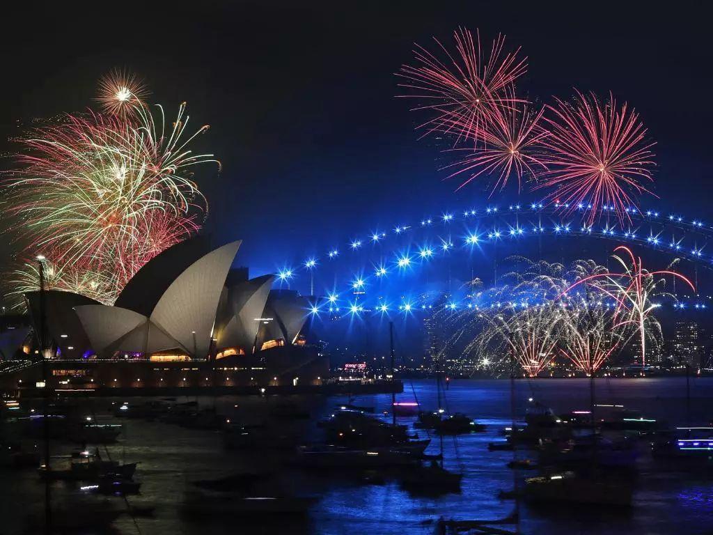 【2018】澳大利亚的跨年烟花,又双叒叕一次惊艳全球!图片
