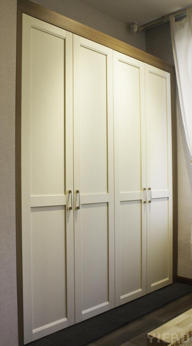 两拉门衣柜内部结构图