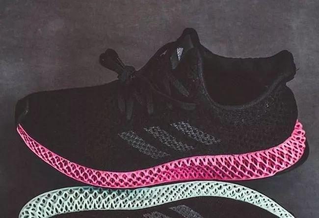 惊艳的粉色中底!黑粉配色 adidas FutureCraft 4D 首次曝光!运动鞋商城