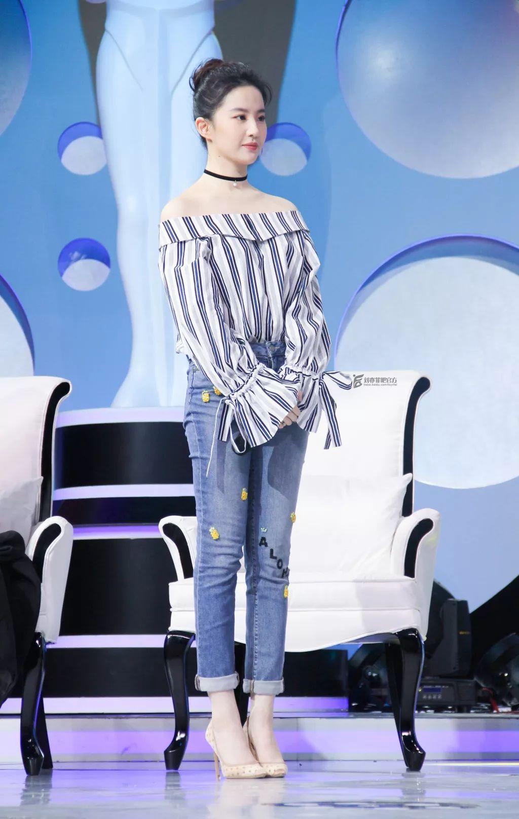 有刘亦菲的脚图片吗!_今冬有了赵丽颖热巴同款瘦腿教程,稳穿3条秋裤也不显腿粗!