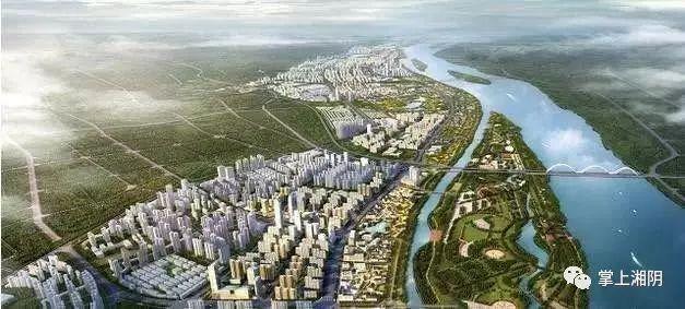 湘阴总体规划图