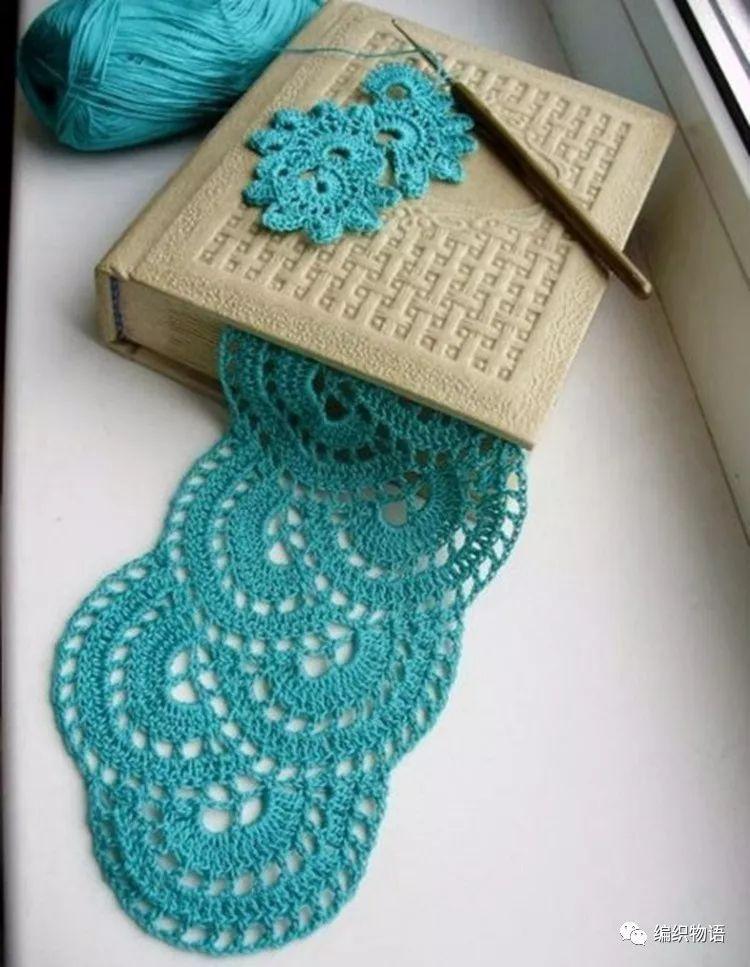 适合围巾,披肩,外套等款的美妙连续花钩织(附图解,过程)