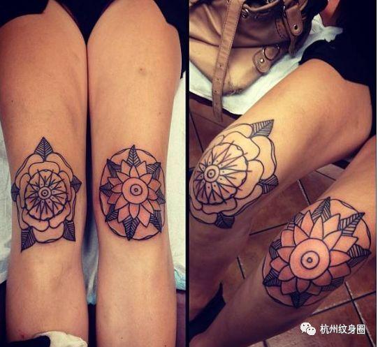 部位| 腿部纹身