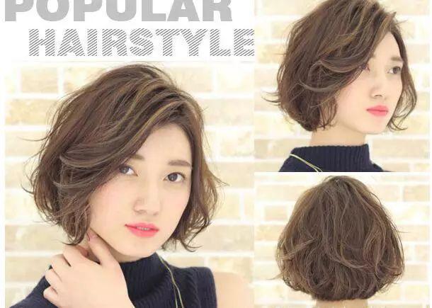 今年最流行的短发发型设计与脸型搭配女生图片