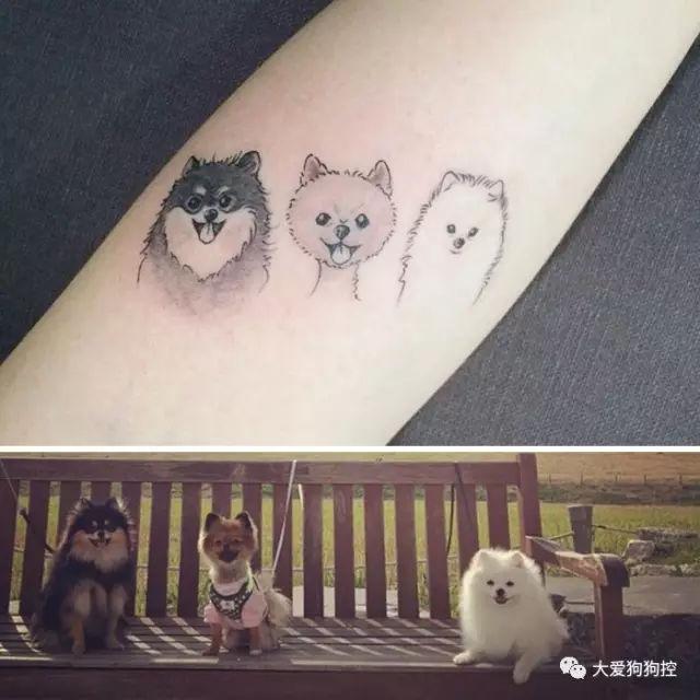 2018,你们要的狗年纹身到了
