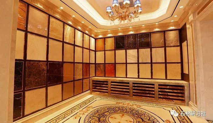 六个豪华大理石展厅设计案例