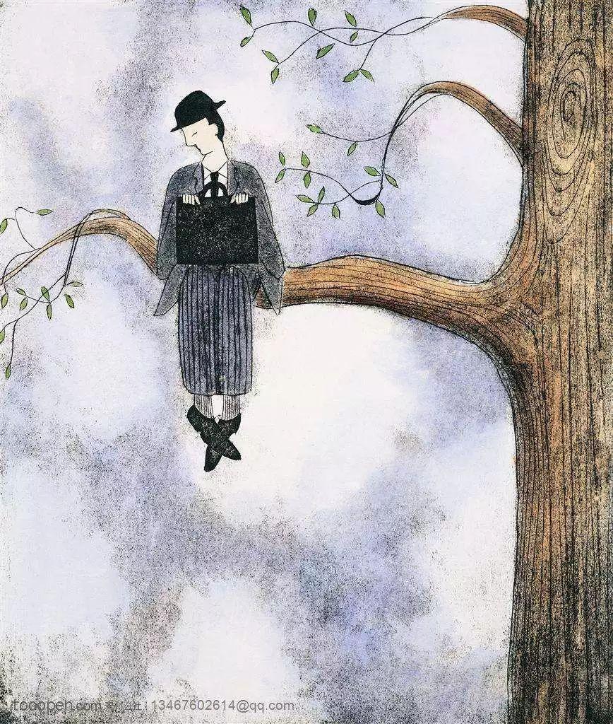 木朵拿伞图片的寓意