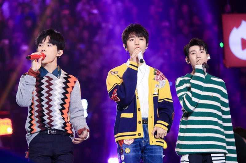 湖南卫视跨年演唱会 流量明星轮番上阵 TFboys零点压轴