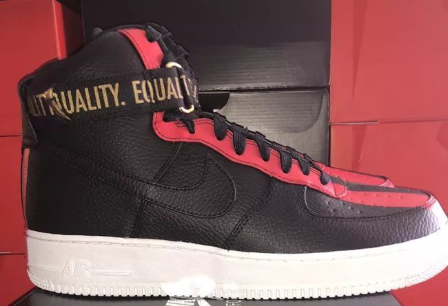 实物曝光!黑人月配色 Air Force 1 Hi 二月正式发售,莆田高仿鞋,高仿运动鞋
