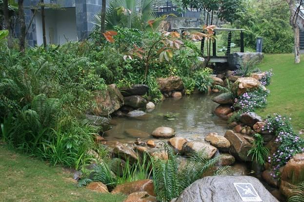 巧妙设计庭院鱼池旺宅催财
