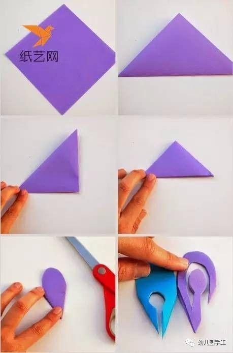 母婴 正文  这个简单的剪纸雪花的制作过程是比较简单的,具体的流程