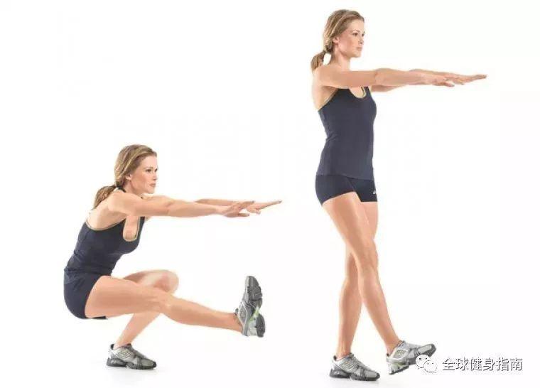 没有器械,怎么练出强壮双腿?!