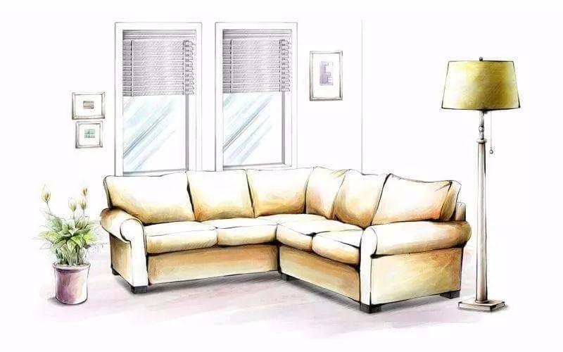 【室内设计】小清新风格手绘图