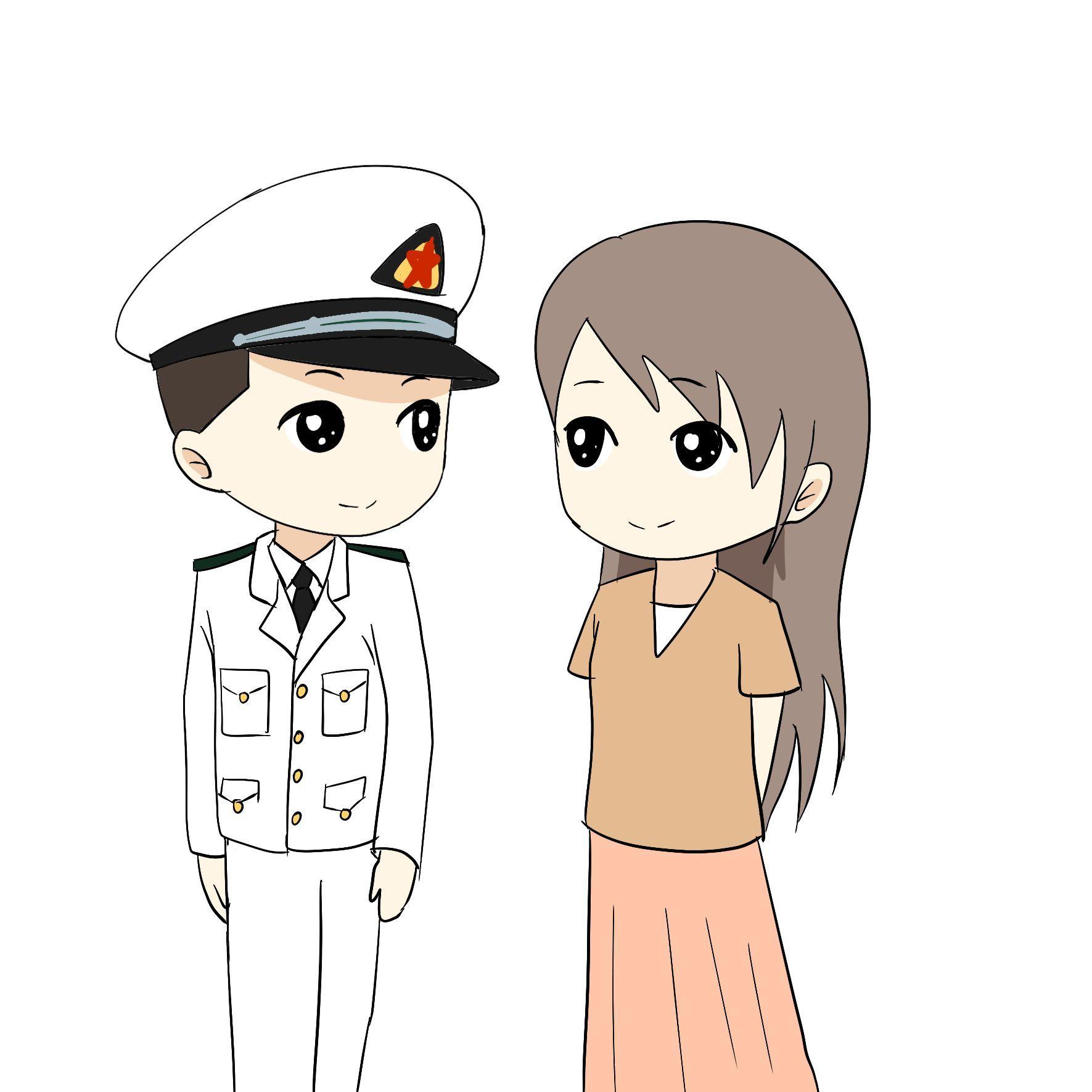 军嫂卡通_动漫 卡通 漫画 头像 1771_1771