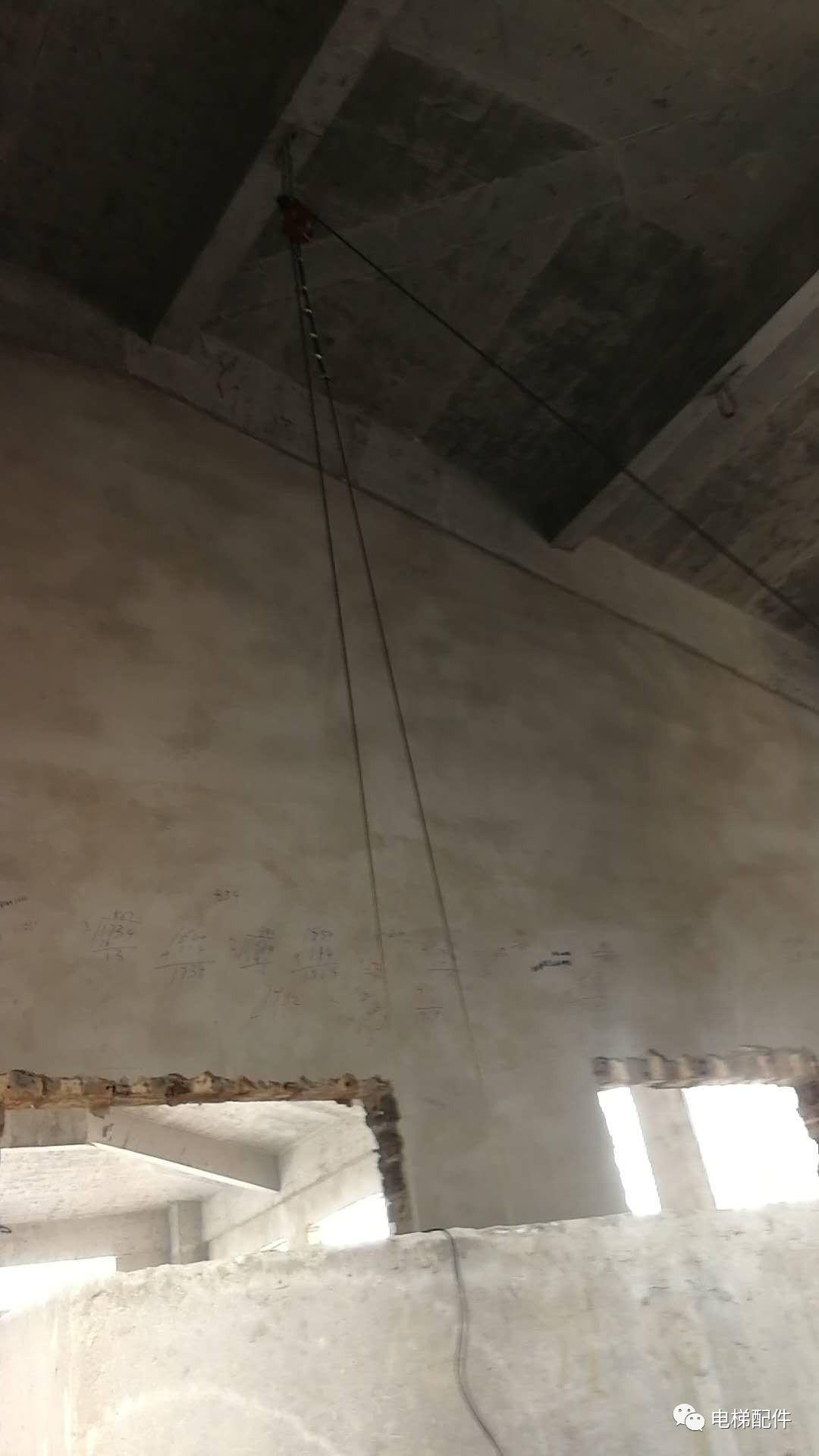 日立电梯主机安装图片