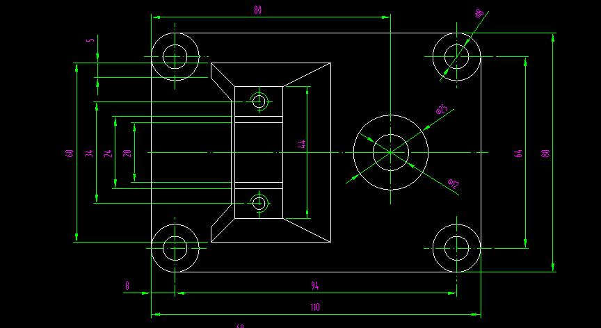 各类cad图纸看不懂,赶快进来看螺纹和内径看吧图纸外径图片