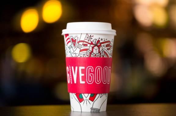 杯子设计上做文章,并且玩出高度的要数星巴克了,其它的咖啡店品牌都算