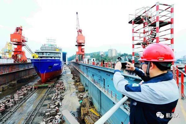 【看点】国内首艘海底管道巡检船下水