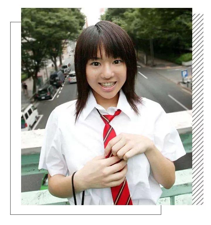 18岁,苍井空在涩谷街头被星探发掘