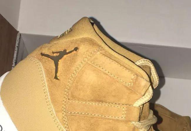 """小麦家族再添一员!Air Jordan 11 """"Wheat"""" 实物首次曝光,莆田鞋吧"""