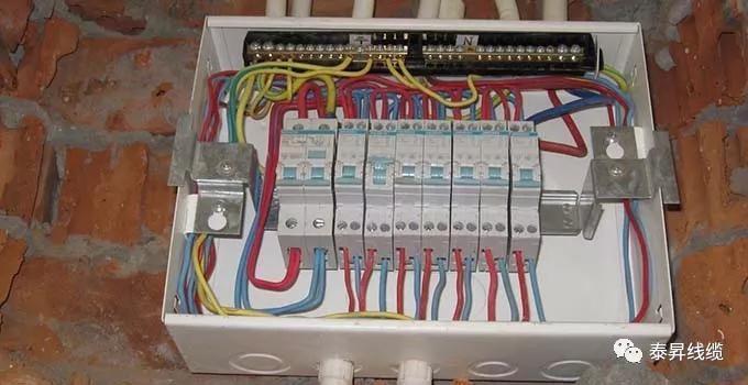 弱电箱是用于通信,智能控制等的设备,36v是划分强电强和弱电箱的标志