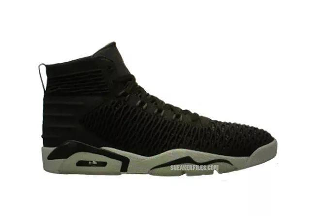 编织 AJ 又出新款!黑白配色 Air Jordan 6 Flyknit 首次曝光,莆田高仿鞋