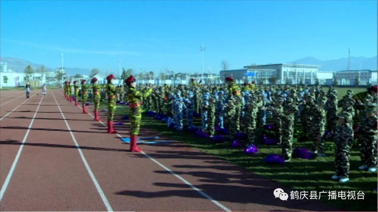 """云鹤镇菜园幼儿园举行""""我的军旅梦""""主题亲子活动"""