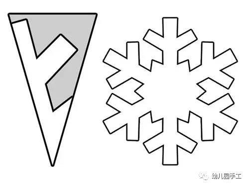 【天使团】亲子手工 | 剪纸雪花