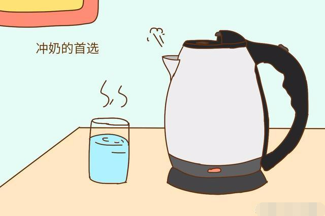 白开水矿泉水蒸馏水你是用哪种水给孩子冲奶?大有讲究