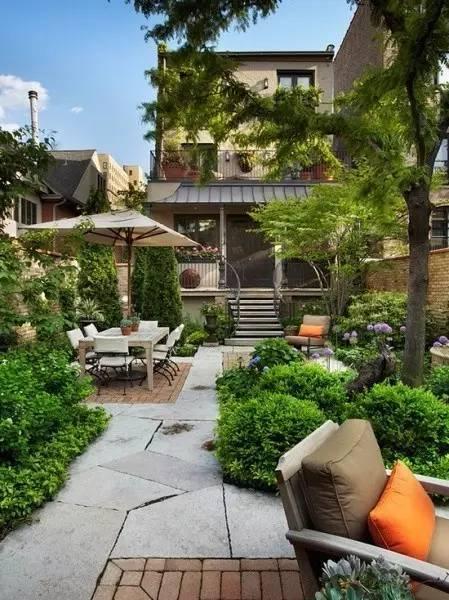 别墅花园设计实景欣赏